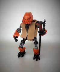 Turaga Paoro (Pohaturon) Tags: bionicle lego moc turaga g1 g2