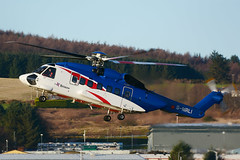 G-MRLI Sikorsky S92A EGPD 27-12-18 (MarkP51) Tags: aberdeen dyce airport abz egpd scotland helicopter airliner aircraft airplane plane image markp51 nikon d7100 nikon200500f56vr
