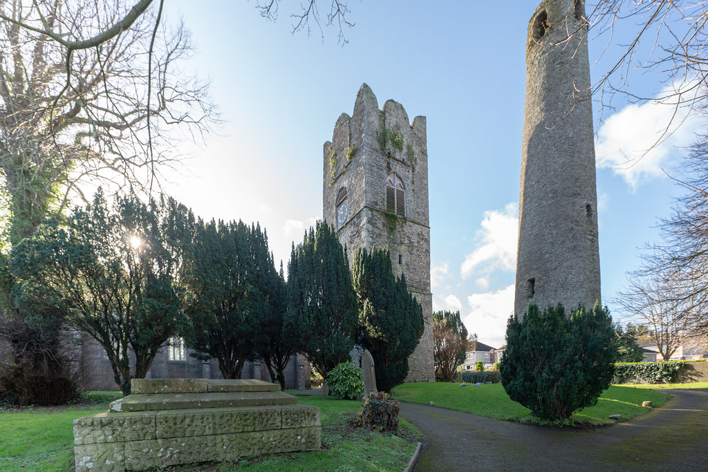 ST COLUMBA'S CHURCH AND GROUNDS IN SWORDS COUNTY DUBLIN [CHURCH ROAD]-148776