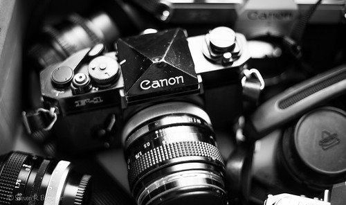 canon f1 and friends