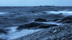 Eneskär (tonyguest) Tags: eneskär sea rocks seascape waves motion karlshamn blekinge sverige sweden tonyguest hanö lighthouse