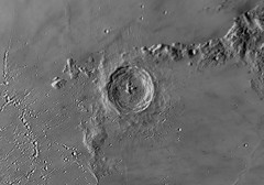 20190214 18-02 Eratosthenes Inverted (Roger Hutchinson) Tags: moon london eratosthenes craters space astrophotography astronomy celestronedgehd11 asi174mm televue powermate