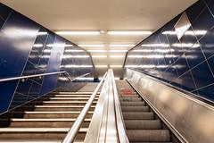 U8 (_LABEL_3) Tags: rolltreppe ubahn verkehr escalator metro subway