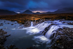 Sligachan Falls (deanallanphotography) Tags: art adventure anawesomeshot artisticexpression beauty blue colors clouds cascade day expression elevated flickrsbest fab fear greatbritishlandscape impressedbeauty landscape light mountain morning ngc natgeo nature nikon outdoors outdoor photography peaceandquiet peaceful panorama rock river scenic scotland scene scenery travel uk view water waterfall