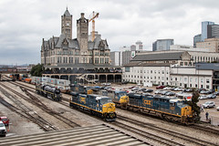 CSX Train's Y151 & Q143 (RailfanTerry) Tags: csx3069 ncstl576484 steamlocomotive nashville tennessee unitedstatesofamerica us csxnashvilledivisionnashvilleterminal csx527576ncstl