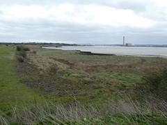 UK - Essex - Near Purfleet - View down River Thames to Dartford river crossing (JulesFoto) Tags: uk england northeastlondonramblers essex purfleet riverthames