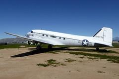 43-15579 Douglas VC-47A Skytrain cn 20045 US Air Force March Field Air Museum 19Feb19 (kerrydavidtaylor) Tags: riv riversidecounty kriv marchairreservebase usaf unitedstatesairforce c47 dc3 dakota
