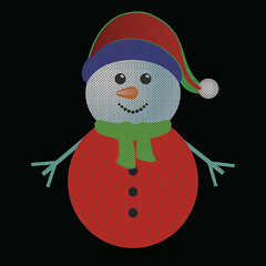 snowman (ahossen235) Tags: snowman red white vector card background blue snow snowy hat christmas scarf santa snowball carrot figure merrychristmas cap xmas noel cute text merry spruce yuletide character illustration circle holiday seasonal message celebration cartoon celebrate wishes