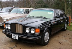 H952 BYE (Nivek.Old.Gold) Tags: 1990 bentley turbo r 6750cc armoured manorarmour hh