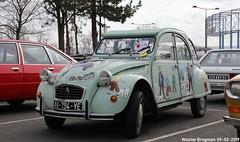 Citroën 2CV 1983 (XBXG) Tags: ax794ye citroën 2cv 1983 tintin tin kuifje citroën2cv 2pk eend geit deuche deudeuche 2cv6 vert jade 32ème salon champenois du véhicule de collection belles champenoises belleschampenoises 2019 époque esplanade roland garros reims marne 51 grand est grandest champagne ardennes france frankrijk vintage old classic french car auto automobile voiture ancienne française vehicle outdoor