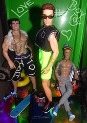 👬3 lindos💪 (FranBoy Monteiro) Tags: doll dolls toy toys boneco bonecos boneca bonecas cute pretty beauty love amor fashion fashionista fashionistas moda outfit clothes look model models gay gayguy guy boy fun diversão cool handsome awesome barbie ken tom tomoffinland finland integrity integritytoys prince