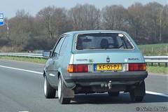 1983 Volvo 340 DL (NielsdeWit) Tags: nielsdewit car vehicle kf01pj a12 driving highway snelweg volvo 340 dl