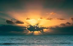 Hiding Sunrise (Santoña) Tags: peaceful beauty seascape mar travel landscape nikon canaryislands spain españa amanecer sea sunset sunrise canarias lanzarote ngc
