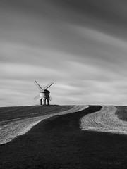 Chesterton Mill 2485 (Athena Carey) Tags: mill chesterton windmill england unitedkingdom europe clouds field farm