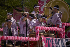 Cherry Blossom Parade (Valley Imagery) Tags: cherry blossom parade 2019 washington dc crowds spectator tourists drums music dance color band