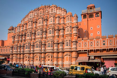 Hawa Mahal palace. Jaipur, India (varfolomeev) Tags: 2018 индия город india city fujifilmxt10
