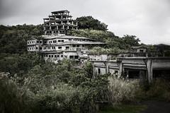 Derelict / Unfinished hotel (Peter Schneiter) Tags: traveljapan tourist tourism asia asian derelict building old strange urbex hotel