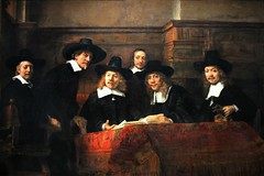 Rembrandt van Rijn. Sampling Officials of the Draper's Guild. 1662 (arthistory390) Tags: rijksmuseum
