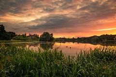 Linlithgow Loch (GenerationX) Tags: barr canon6d historicscotland linlithgow linlithgowloch linlithgowpalace linlithgowpeel maryqueenofscots neil scotland scottish stewarts westlothian birds bouys buoys calm clouds dawn grass landscape loch mirror mist park reeds reflections sky sunrise trees water