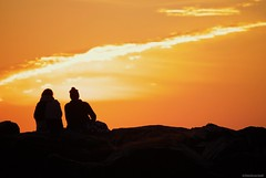 Morning view.... (Joe Hengel) Tags: morningview lowerslowerdelaware lsd lewes lewesde delaware de silhouette silhouettes jetty sunrise sunlight watchingthesunrise wintersky sussexcounty seaside capehenlopenstatepark capehenlopen statepark