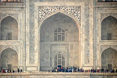 Magical Taj #3 (Pedestrian Photographer) Tags: taj mahal mausoleum agra india zoom zoomin step 123