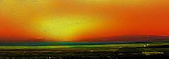 SOLAR HEATER (Viktor Manuel 990.) Tags: solar heater calentador nature sun sol landscape paisaje digitalpainting pinturadigital digitalart artedigital sunset ocaso textures texturas querétaro méxico victormanuelgómezg