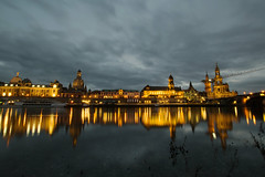 feels like home to me (DeCo2912) Tags: dresden saxony sachsen elbe river reflection night light