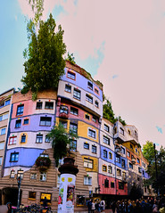 The colours of Hundertwasserhaus (abhishek.verma55) Tags: hundertwasserhaus vienna ©abhishekverma wien architecture architecturelover architectural amazing beauty beautiful colourful colour colorful colors colours travel travelphotography street streetphotography city cityscape buildings building famousplaces urban urbanexploration exploration exterior outdoor facade artistic outdoors art flickr photography travelphotos traveller dreamvacation vacation europe eurotrip beautifulcolours curvy bright fujifilmxt20 panorama explosionofcolors greens greenery austria view outside urbanlandscape vibrant vivid vibrance wanderlust explosionofcolours explore experience attractive tourism tourist