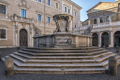 Senatus Populusque Romanus (Renato Pizzutti) Tags: lazio roma senatuspopulusqueromanus fontana spqr trastevere nikond750 renatopizzutti