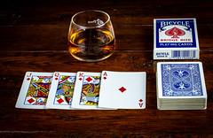 6M7A5176 (hallbæck) Tags: kortspil playingcards kort drink playingcardsanddrink spillekort mh hørsholm denmark canoneos5dmarkiii ef100mmf28lmacroisusm macro bicycle