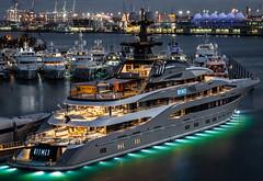 M/Y Kismet - Miami Yacht Show 2019 (Ron Raffety) Tags: kismet yacht superyacht mykismet kismetyacht luxuryyacht megayacht lürssen lürssenyachts yachtshow miamiyachtshow2019 islandgardensdeepharbormarina reymondlangton espenheino yachtforsale superyachtforsale richlife luxurylifestyle billionaire ronraffety ronraffetyphotography k kismetforsale