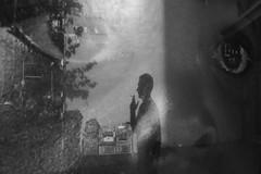 Sydney, February 2019 (zonefocus.net) Tags: reflections man smoking child eyes art poster streetphotography