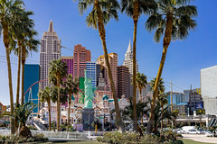 New York New York Hotel, Las Vegas, USA (Tasmanian58) Tags: newyork hotel vegas nevada usa strip boulvard lasvegas loxia 35mm 235 zeiss sony a7ii street urban buildings sky colors
