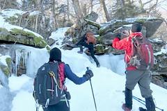 Climbing High Peak 1902170311w (gparet) Tags: hike hiking trail trails woods forest nature outdoor outdoors scenic vista naturephotography catskills catskillmountains kaaterskill highpeak snow ice photographer