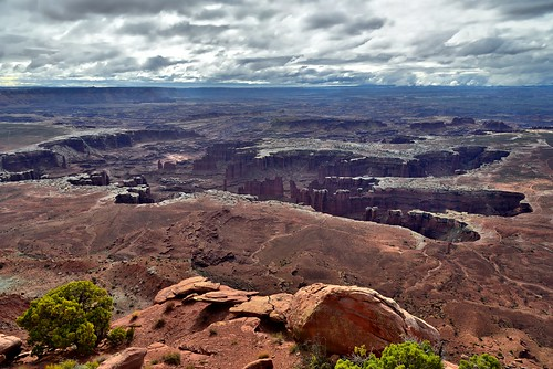 Monument Basin and the Many Canyons of Canyonlands National Park