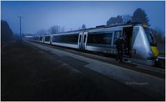 Railway Fog-tography. (-Metal-M1KE-) Tags: chilternrailways 168 168106 hatton hattonstation 1g12 arriva unit railwayphotography foggy fog