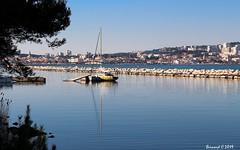 Martigues et le Canal de Marseille au Rhône (Bernard C **) Tags: canon france provence paca provencealpescôted'azur bouchesdurhône martigues étang étangdeberre canal canaldemarseilleaurhône