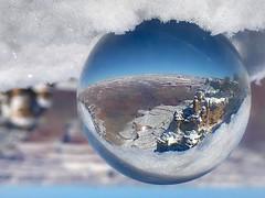The GRANDEST snow globe ever seen. Had a short break during the Grand Canyon History Symposium this past Saturday to get a few snowy shots. #grandcanyon #nationapark #arizonacollective #instagramaz #photography #findyourpark #getoutside #arizona #desert #