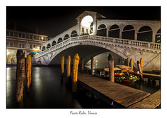 Puente Rialto. Venecia (Rafael Cejudo Martinez) Tags: venecia nocturna paisaje
