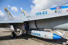 "McDonnell Douglas F/A-18C Hornet of Strike Fighter Squadron 83 (VFA-83) ""Rampagers"" from NAS Oceana (Norman Graf) Tags: fa18 usn aircraft 165184 airplane cagbird boeing 2017nasoceanaairshow airshow fa18c navalaviation vfa83 rampagers ag300 attack carrierairgroup f18 f18c fighter hornet jet mcdonnelldouglas nasoceana plane strikefightersquadron83 unitedstatesnavy"