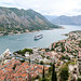 Views of Kotor and the bay from the fortress hilltop