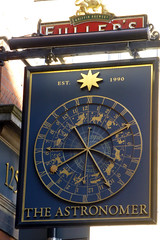 Astronomer, London E1. (piktaker) Tags: london londone1 e1 pub inn bar tavern pubsign innsign astronomer fullers shootingstar publichouse