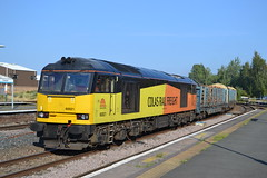 Colas Rail 60021 (Will Swain) Tags: chester station 19th june 2018 cheshire north west south county train trains rail railway railways transport travel uk britain vehicle vehicles england english europe colas 60021 class 60 021