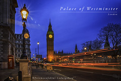 Palace of Westminster (Fotomanufaktur.lb) Tags: westminster palace london bigben bluehour schölkopf schoelkopf canon lights lichter blauestunde england greatbritain