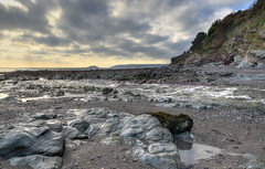 The beach at Seaton, Cornwall (Baz Richardson) Tags: cornwall seaton coast rocks cliffs riverseaton streams rivers