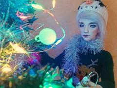Merry Christmas! (Kulukala Art) Tags: bjd ball jointed doll youpladolls zenji
