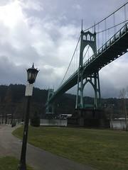 Columbia and Willamette rivers. (Howard TJ) Tags: stjohn'sbridge portland oregon river trip columbia willamette