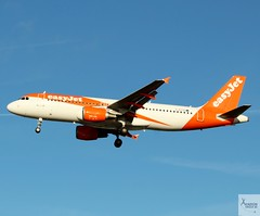 EasyJet A320-214 G-EZTB landing at LGW/EGKK (AviationEagle32) Tags: london londongatwick londongatwickairport lgw egkk gatwick gatwickairport unitedkingdom uk airport aircraft airplanes apron aviation aeroplanes avp aviationphotography avgeek aviationlovers aviationgeek aeroplane airplane planespotting planes plane flying flickraviation flight vehicle tarmac easyjet u2 ezy airbus airbus320 a320 a320200 a322 a320214 geztb