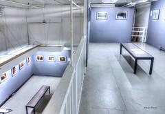 photography gallery (albyn.davis) Tags: tribeca newyorkcity nyc usa gallery art photography color blue light indoor soho