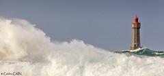 Ouessant, coup de vent à Porz Doun (cedric.cain29) Tags: cedriccaïn ouessant îledouessant iroise bretagne finistère phare lighthouse pharedelajument lajument lumièresdouessant rochers paysages bzh tempête